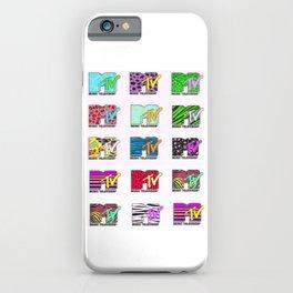 80s MTV Logos iPhone Case
