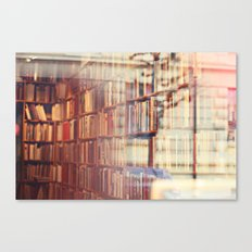 Endless amount of stories Canvas Print