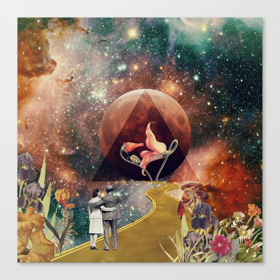 PinkFloyd Love Canvas Print