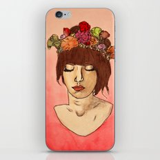 Is She Down To Earth or Just Hipster? iPhone Skin