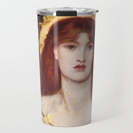 VENUS VERTICORDIA - ROSSETTI Travel Mug