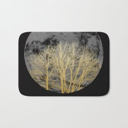 Golden moon Bath Mat