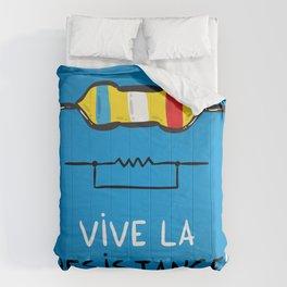 Vive la Resistance Comforters