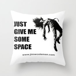 Spaced Throw Pillow