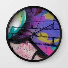 Learn To Let Go Wall Clock