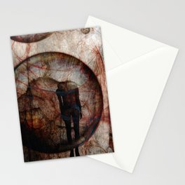 Tell me where you are today.. Stationery Cards