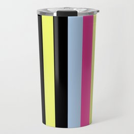 Bertie Bassett Stripes Pattern Travel Mug