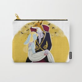 Mr Fox and Miss Rabbit Carry-All Pouch