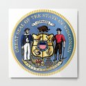 Wisconsin State Seal by homestead