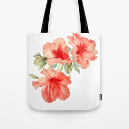 Azalea Painting Tote Bag