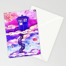 Tardis Colour Stationery Cards