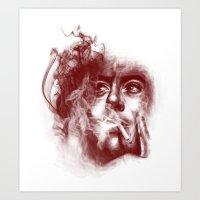 smokescreens and mirrors Art Print