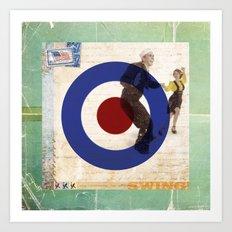 Swing! Art Print
