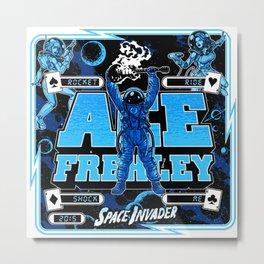 ACE FREHLEY SPACE INVADER TOUR DATES 2019 BAKPAU Metal Print