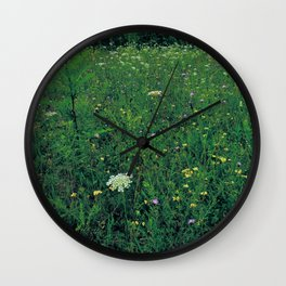 deep grassy Wall Clock