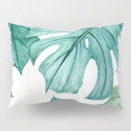 Monstera in the Dark Pillow Sham