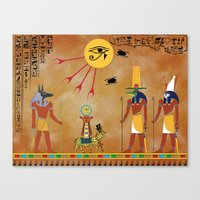 egypt Canvas Prints featuring Egypt by Michele Roper