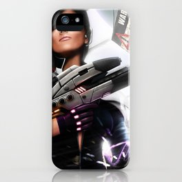 Mass Effect Fan art iPhone Case