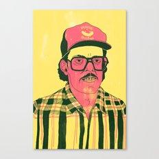 Sausage Man Canvas Print