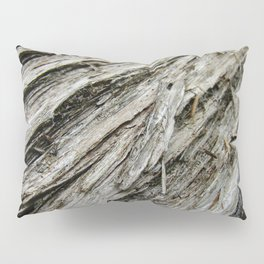 Bark on a Downed Tree Pillow Sham