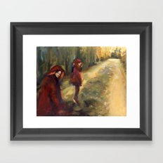 Agnes - Autumn Framed Art Print