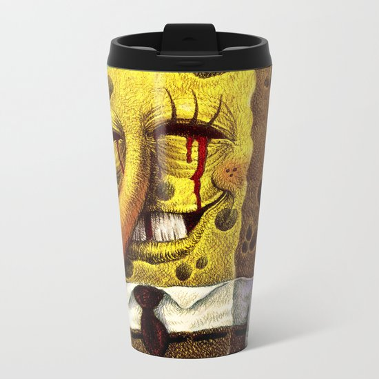 Under happiness( Fan-art) Metal Travel Mug
