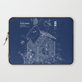 Trojan Rabbit Laptop Sleeve