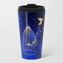 Let your heart fly Travel Mug