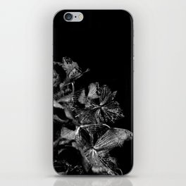 Skeleton Petals iPhone Skin