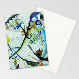 Vassily Kandinsky 1921 Segment blue Stationery Cards