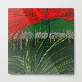 The strength of little things Metal Print