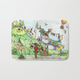 Little Witch Vacation Bath Mat