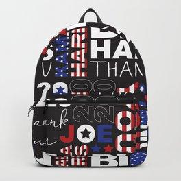 Thank You Joe Biden And Kamala Harris Pattern Backpack
