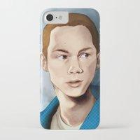 stiles stilinski iPhone & iPod Cases featuring Stiles Stilinski by Terry Blas