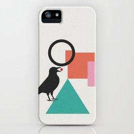 constructivist bird iPhone Case