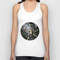 cosmos Tank Tops featuring Cosmos by digital_flowers