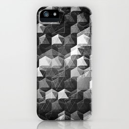 as the curtain falls (monochrome series) iPhone Case