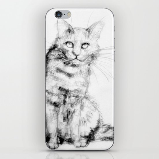 ちょっとしぶい猫 iPhone & iPod Skin