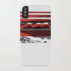 Red Terrain Slim Case iPhone X
