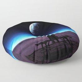 Loneliness Floor Pillow