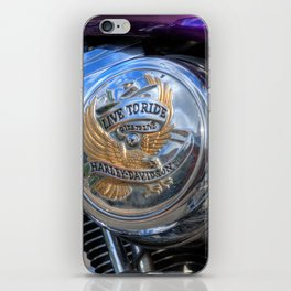 Live to Ride iPhone Skin