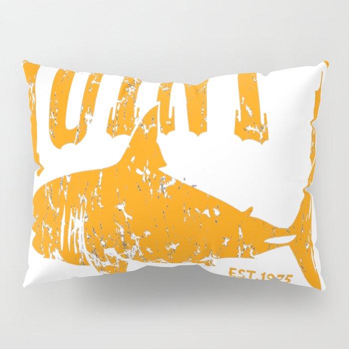 Quints Shark Fishing Amity Island Pillow Sham