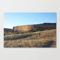 Chasing Daylight Canvas Print