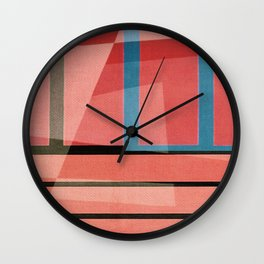 Extraction Wall Clock