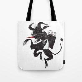 Krampus Tote Bag