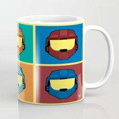 Warhol's Red vs Blue Mug