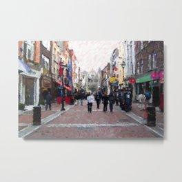 Grafton Street Metal Print