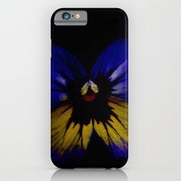 Dark Midsummer Pansies, Love Potion iPhone Case