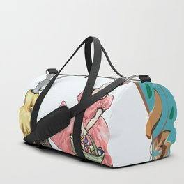 Dressed Easter bunnies 2a Duffle Bag