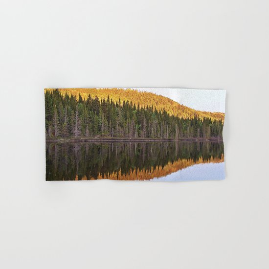 Fall Forest Reflected Hand & Bath Towel